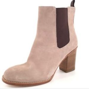 Cole Haan 'Draven' women's beige suede ankle boot